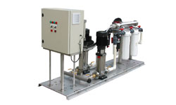 Dual VMS system with dual filtration (sediment and UV) and custom-built controller