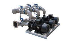 Triple end suction system supplied with MPV controller